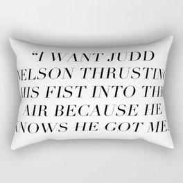 Judd Nelson Rectangular Pillow