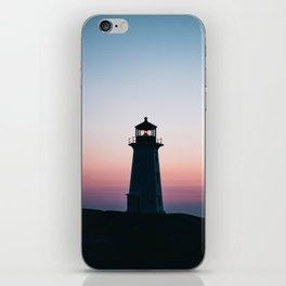 Goodnight Bright Light iPhone Skin