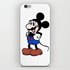 Super Mickey Brother iPhone & iPod Skin
