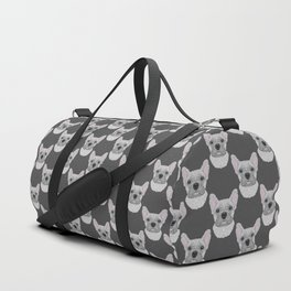 Cream French Bulldog Duffle Bag