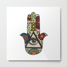 Hand Eye Coordination  Metal Print