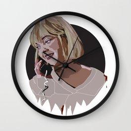 Casey Becker - Scream Wall Clock