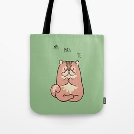 NAMASTE Persian Cat Tote Bag