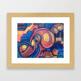 fields of light Framed Art Print