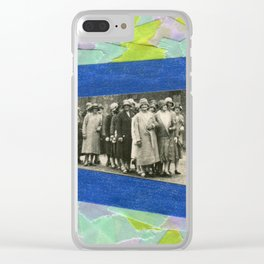 The Feminist Parade Clear iPhone Case