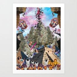 Vlad The Impaler Art Print