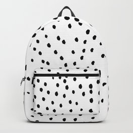 Inky polka dot pattern Backpack