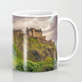 Majesically Marvelous Romantic Fairytale Edinburgh Castle Scotland Europe Ultra HD Coffee Mug