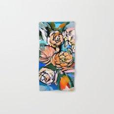 Vibrant Floral Hand & Bath Towel