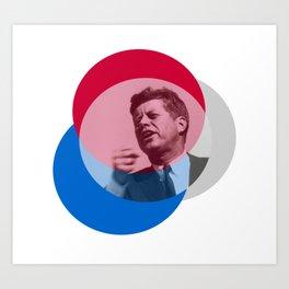 Kennedy - Shouts of Glory Art Print