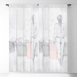 Figures Blackout Curtain