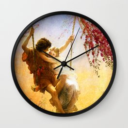 The Spring of Our Love Wall Clock