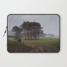 Caspar David Friedrich - The Times of Day - The Midday Laptop Sleeve