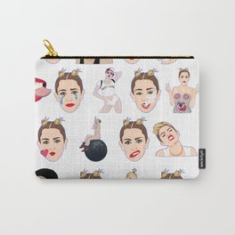 Having A Miley Moment Carry-All Pouch