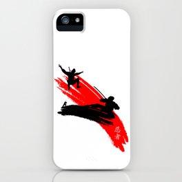 Ninjas iPhone Case