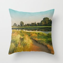 Cape Cod Eastham Eventide Number Two Throw Pillow