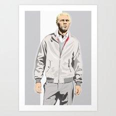 Steve McQueen Art Print