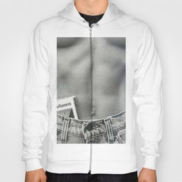 Pack of Parliament's, Bare Midriff black and white photograph / photography Hoody