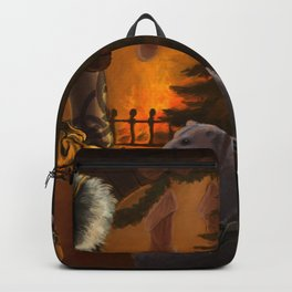 Holiday Christmas Guild Wars Christmas Tree Fantas Backpack