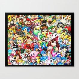 Nintendo Tribute Canvas Print