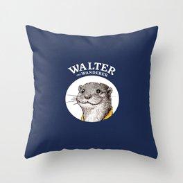 Walter The Wanderer Throw Pillow