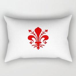 Flag of Florence Rectangular Pillow