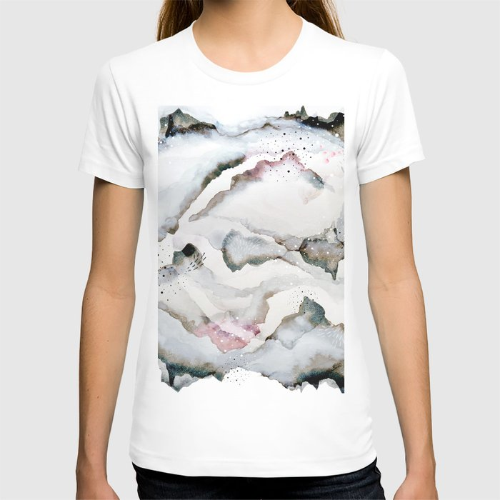 serenity: abstract painting T-shirt