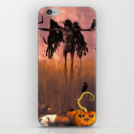 Halloween design iPhone Skin