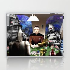 Droids Playing Poker Laptop & iPad Skin