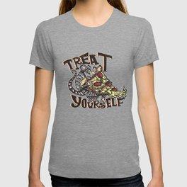 Treat Yourself Pizza Rat T-shirt