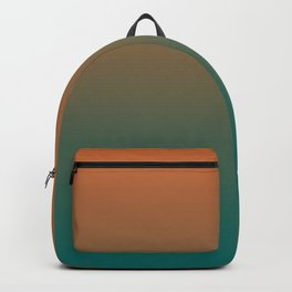 Quetzal Green Meerkat Gradient Pattern Backpack