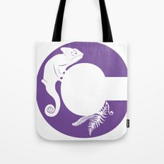 C is for Chameleon - Animal Alphabet Series Tote Bag