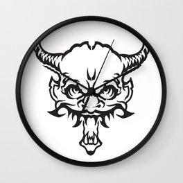 Demon Devil Wall Clock