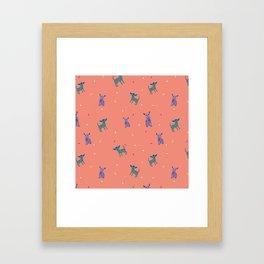 Chihuahua fiesta Framed Art Print