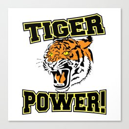 Tiger Power Canvas Print