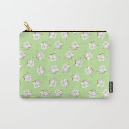 Cotton Blossom Toss in Key Lime Carry-All Pouch