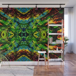 Exploding Star Wall Mural