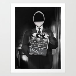 Corky the Film Director Art Print