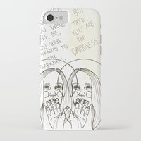 ahs iPhone & iPod Cases featuring Violet AHS by Luna Perri
