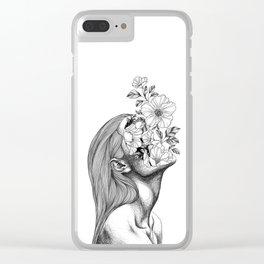 Face Plant Clear iPhone Case
