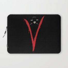 V for Vendett (e6) Laptop Sleeve