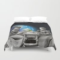 game of thrones Duvet Covers featuring Card Game by Cs025