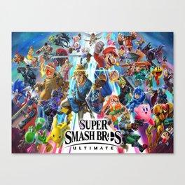 Super Smash all Bros Canvas Print