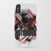 notorious iPhone & iPod Cases featuring Notorious by Skye