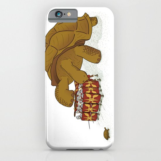 Roman turtle formation iPhone & iPod Case