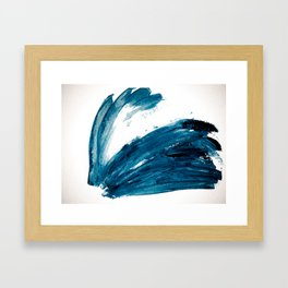 Bunny Blue Framed Art Print