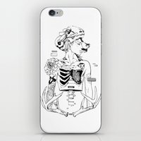 halloween iPhone & iPod Skins featuring Halloween by Cassandra Jean