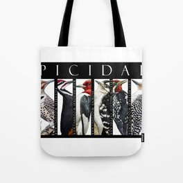 Woodpeckers of North America Tote Bag