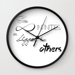 The Fault in our Stars - infinities Wall Clock