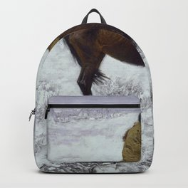 The Herd Boy by George Catlin Backpack